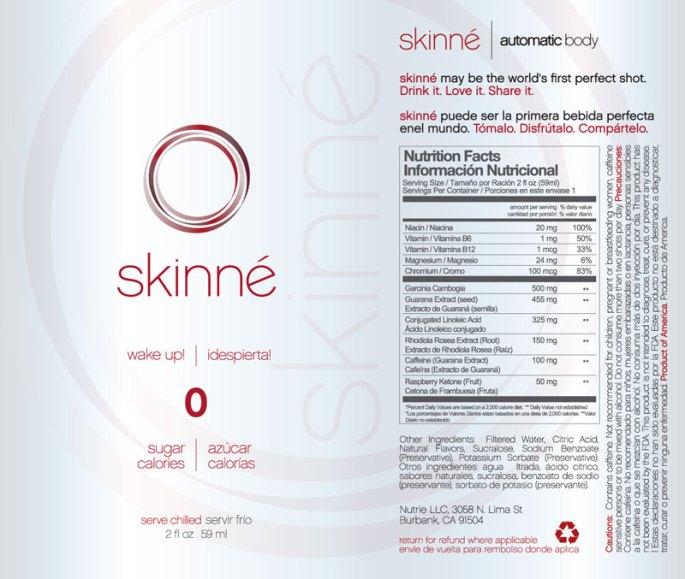 Nutrie-Skinne
